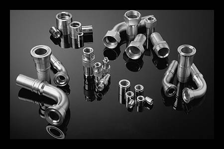 Mild Stainless Hose Fittings